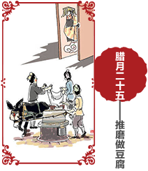 过年习俗 腊月二十五习俗 春节习俗